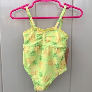 Pineapple Baby Bathing Suit NWT Size 3-6 Months
